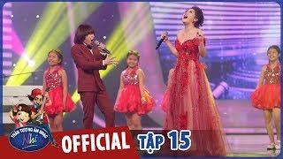 vietnam idol kids 2017 - gala trao giai - van mai huong ft thien khoi - la toi va am nhac