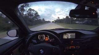 BMW E92 M3 with Gintani burble tune
