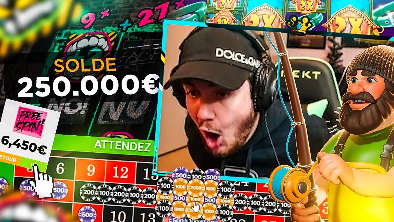 🤑💎 Une session CASINO de folie à 250.000€ (une des meilleures session de 2021)
