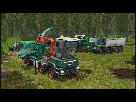 Farming Simulator 17 - Forestry And Farming On The Valley The Old Farm 025