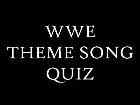 Wwe theme songs quiz