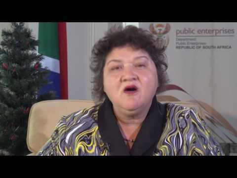 A Message from the Minister of Public Enterprises, Lynne Brown