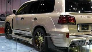 INVADER L60's - Lexus turned Monsters in Abu Dhabi!