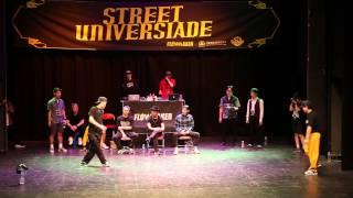 KROM vs 박세리 @STREET UNIVERSIADE 2015 Solo Quarter Final Battle