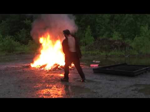 Magnesium Fire Explosion With Water