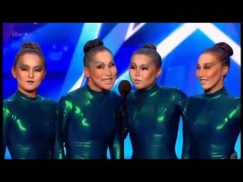 BGT 2017 AUDITIONS - ANGORA CONTORTION