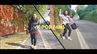 Fans Reaction to Kpop Idols In Real Life