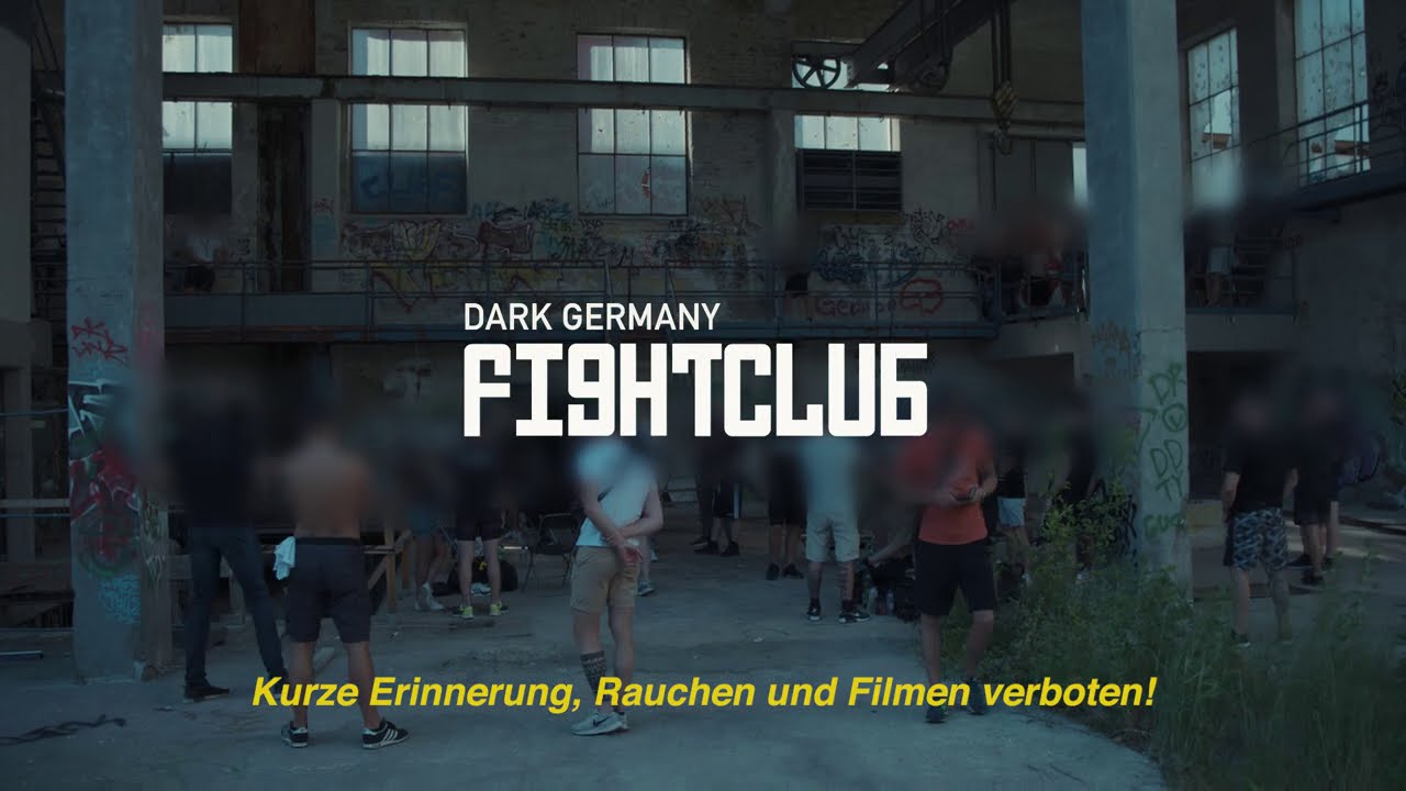DARK GERMANY - Fight to blood (Trailer)