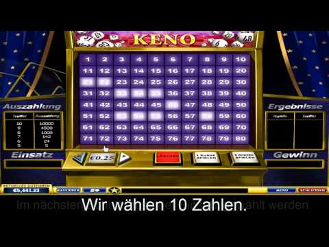 Keno im Europa Casino