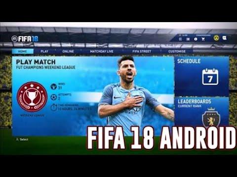FIFA 18 ANDROID : FIFA 18 FIFA 16 MOD(iOS/Android)