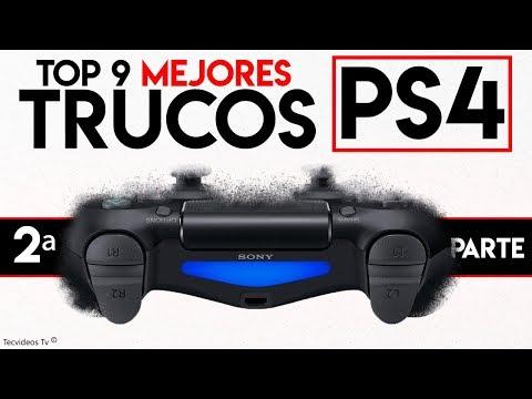 Nuevos Mejores TRUCOS de PS4 y Mando Dualshock 4 | TOP 9 Funciones Ocultas de PlayStation 4 (II)