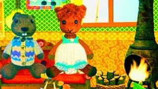 Играем СЕМЕЙНЫЙ ДОМИК FUZZY HOUSE часть#1 ВИДЕО ДЛЯ ДЕТЕЙ Семейная игра как мультик развлекательный