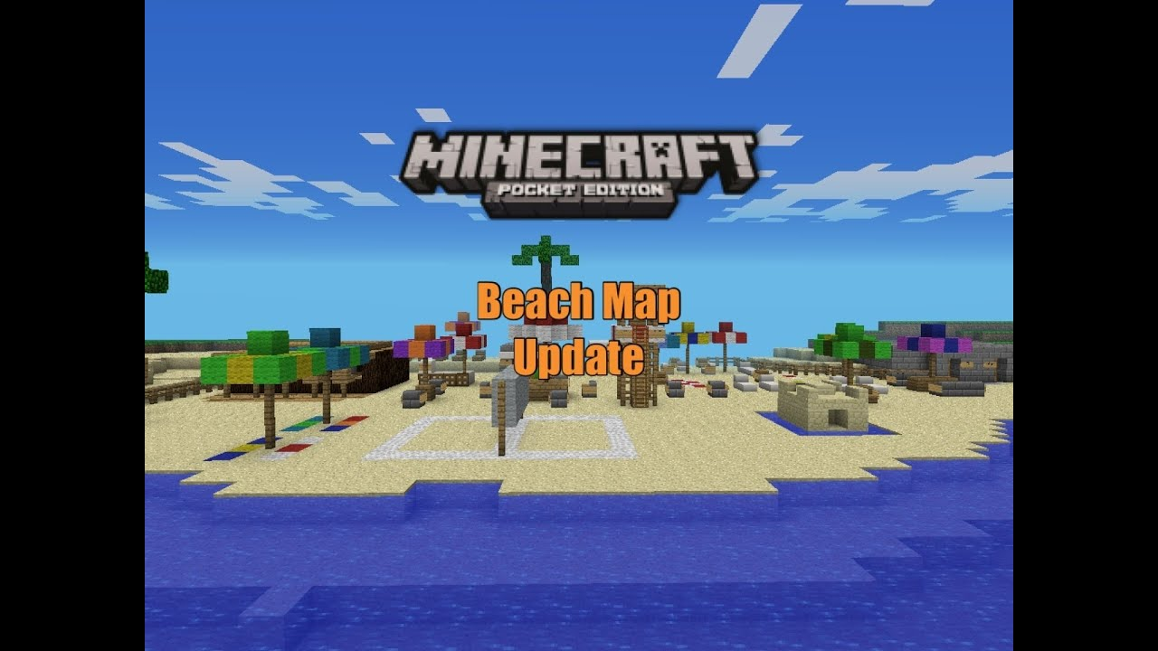 Minecraft PE Beach Map