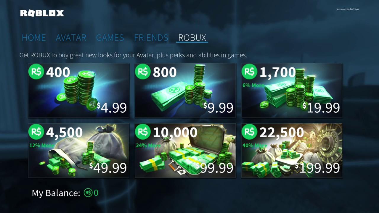 Roblox Free Robux Gitch Xbox One Youtube