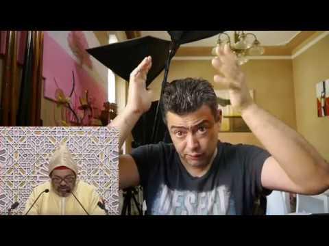 فضيحة  محمد السادس أمام أعضاء مجلسي البرلمان 10/2017
