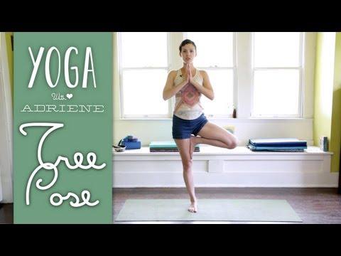 Tree Pose Vrksasana Yoga With Adriene