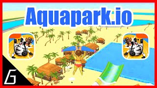 Aquapark.io - Gameplay - First Victorys - (iOS - Android)