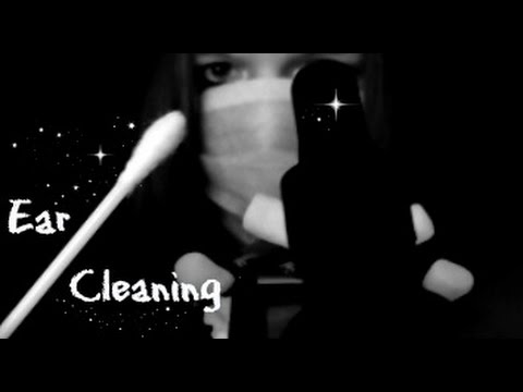 ASMR Ear To Ear Gentle Ear Cleaning & Touching, Brushing, No Talking Super Tingly.