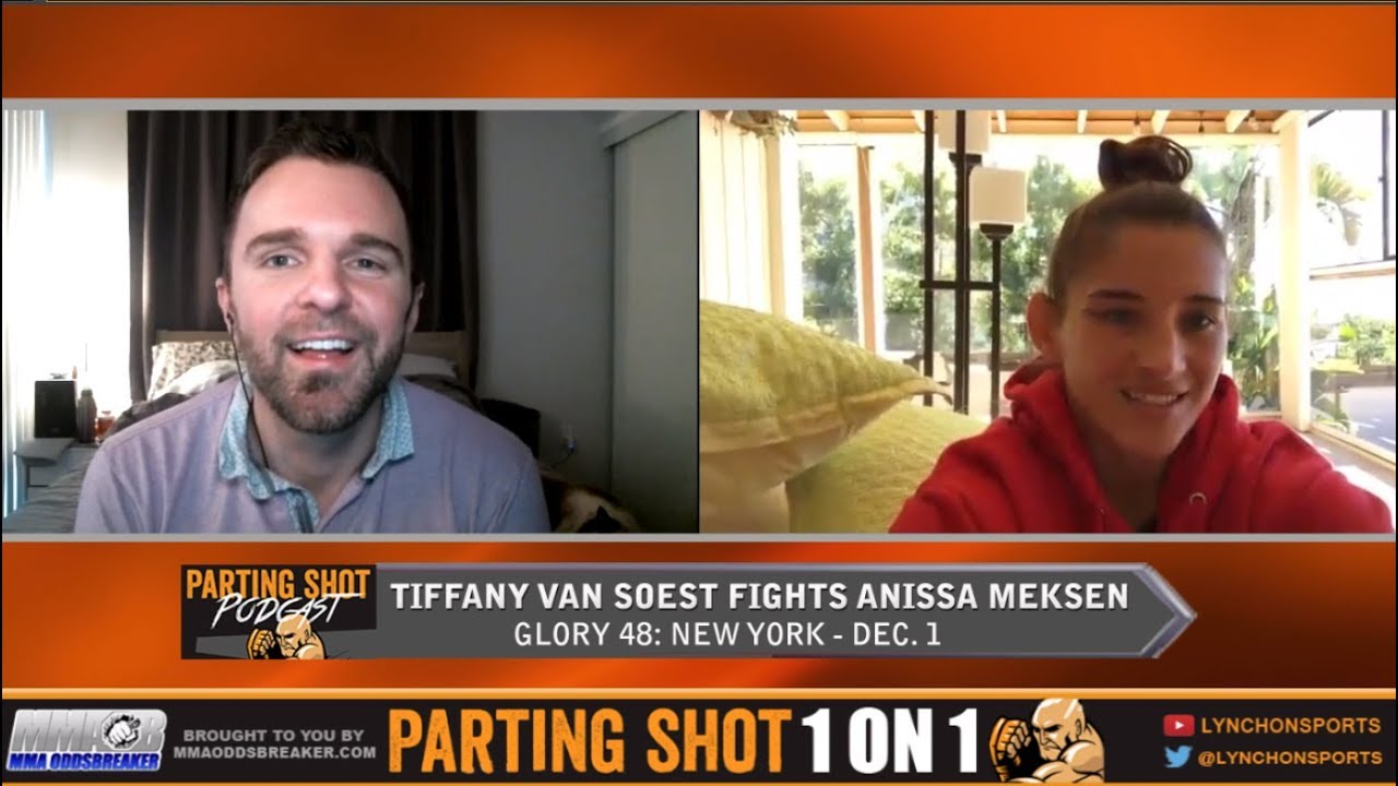 Tiffany Van Soest talks Glory 48 title defense, MMA career and Surfing passion