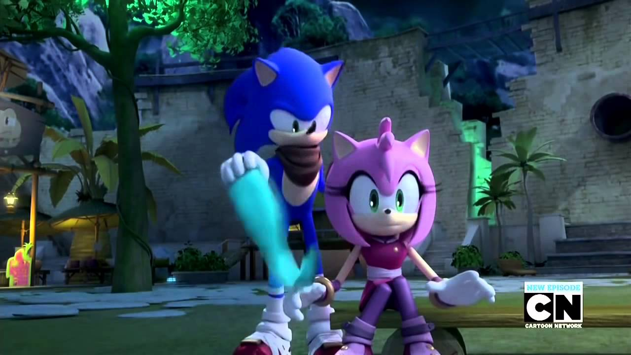 sonamy moments in sonic boom episode 50 youtube
