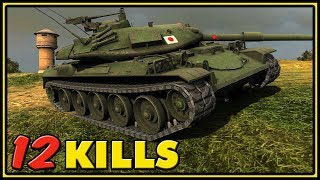 STB-1 - 12 Kills - World of Tanks Gameplay