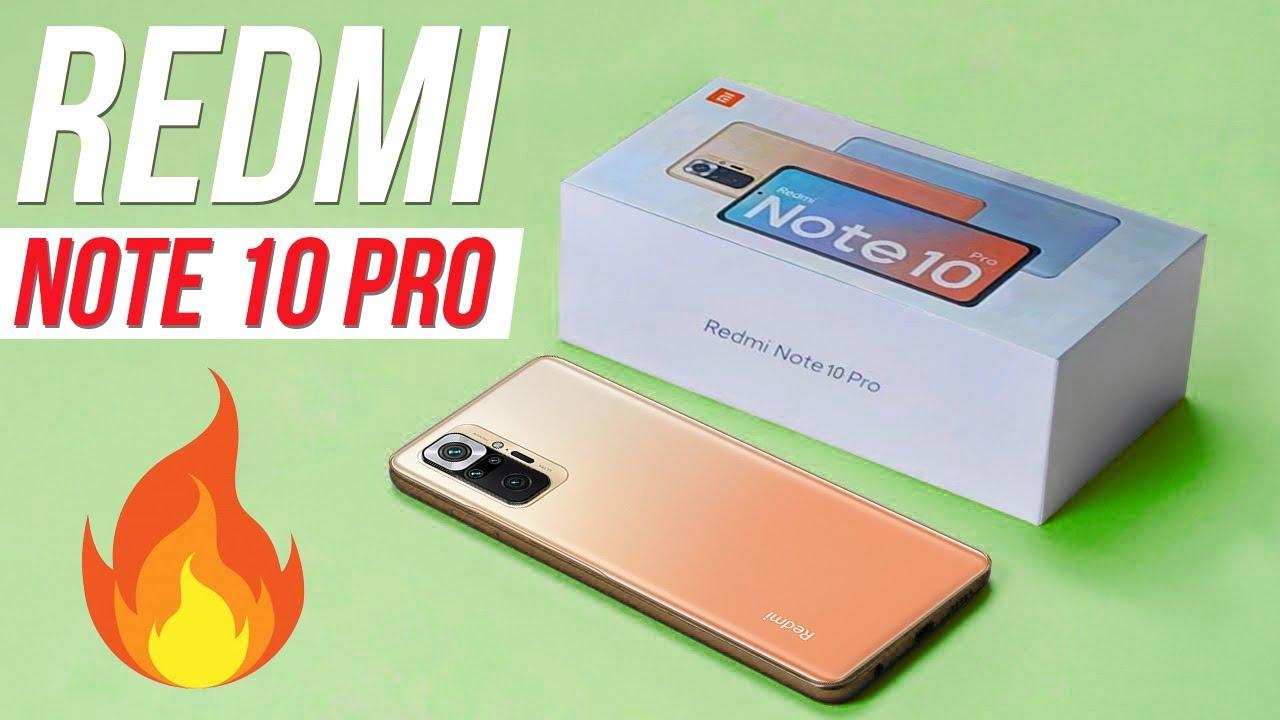 Xiaomi Redmi Note 10 Pro 🔥 Новый уровень недорогих смартфонов!