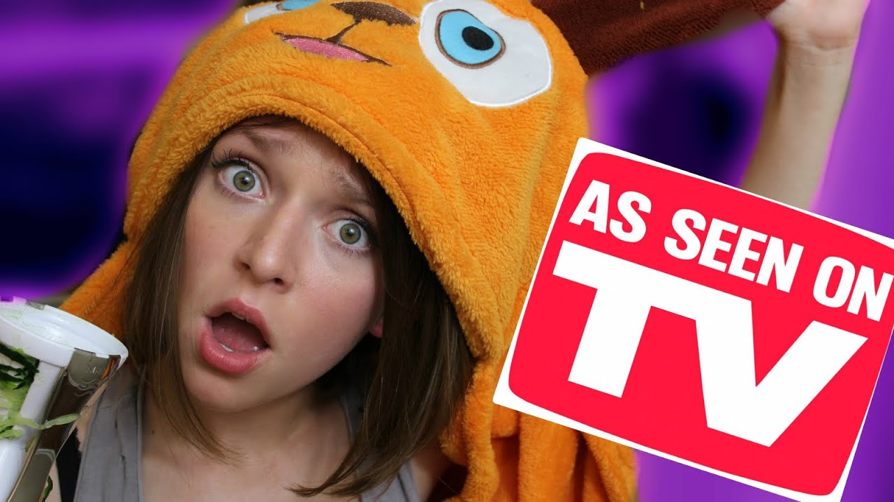 TESTING *AS SEEN ON TV* PRODUCTS! | Alexis G Zall - YouTube