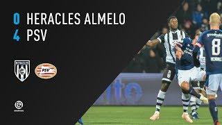 Heracles Almelo - PSV | 15-12-2018 | Samenvatting