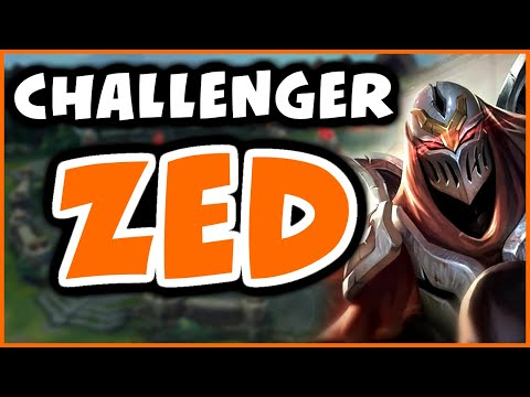 NEVER LOSE TO KASSADIN AGAIN | Challenger Zed - League of Legends