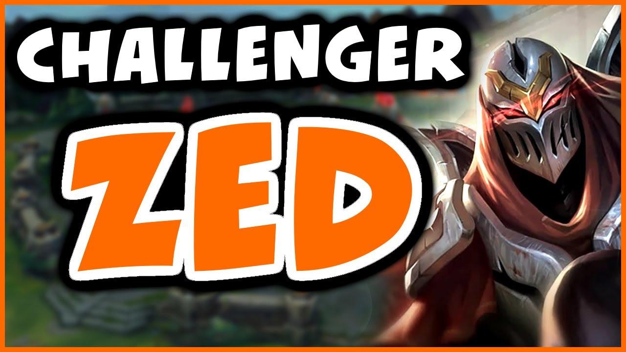 NEVER LOSE TO KASSADIN AGAIN | Challenger Zed - League of Legends