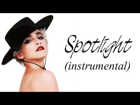 MADONNA - Spotlight (Instrumental)