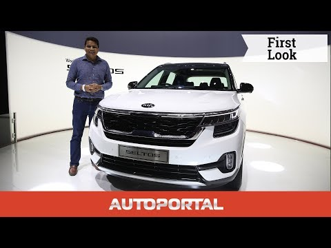 Kia Seltos SUV - First Look Review — Autoportal