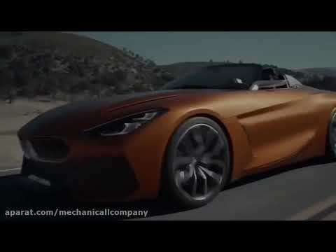 جدیدترین مدل بی ام و (۲۰۱۹ BMW z4) در نمایشگاه کنکورس دلگانس رونمایی شد