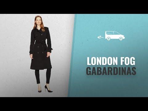 Los 10 Productos Más Vendidos De London Fog: London Fog Women's Midi-Length Trench Coat