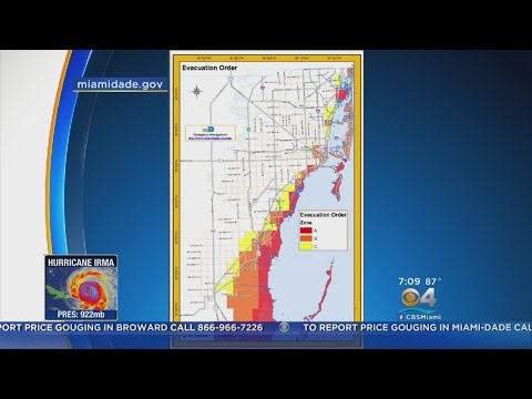 700K Residents Under Evacuation Orders In Miami-Dade County
