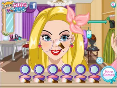 Disney Princess Makeup (Принцессы Диснея макияж) - прохождение игры