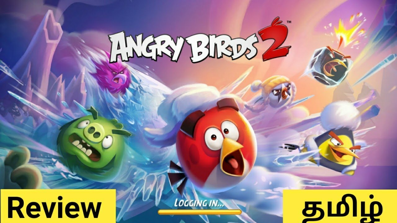 Angry Birds 2 Game Review in Tamil   Games Review in Tamil   Angry Birds 2  Gameplay