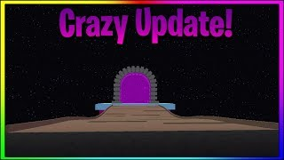 A PORTAL IN ROBLOX PET SIMULATOR! (New Update)
