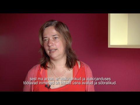 AJAKIRJANDUS: Eesti Rahvusringhäälingu viipekeelsed uudised