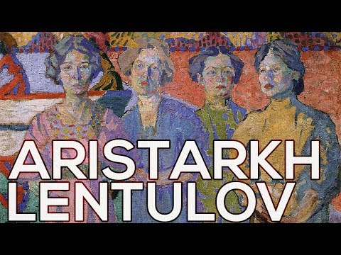 Aristarkh Lentulov: A collection of 163 works (HD)