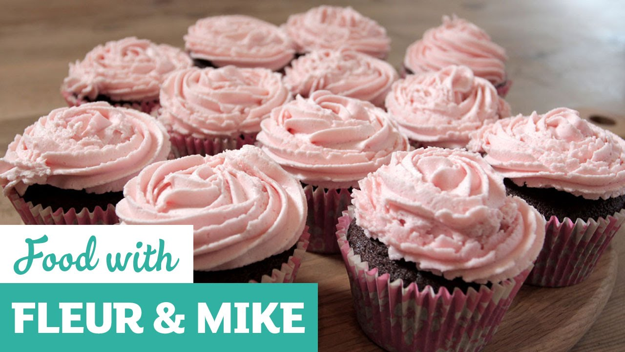 Mother S Day Rose Covered Cupcakes Fleur Mike Youtube