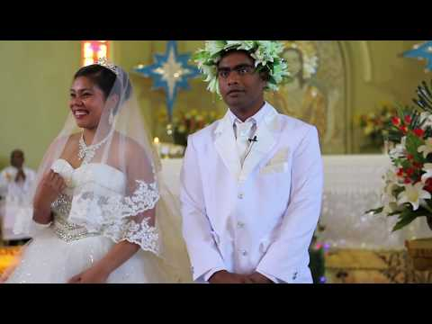 Kiribati - Kiriati & Buraniiti Wedding Ceremony Highlights 30 Dec 2017