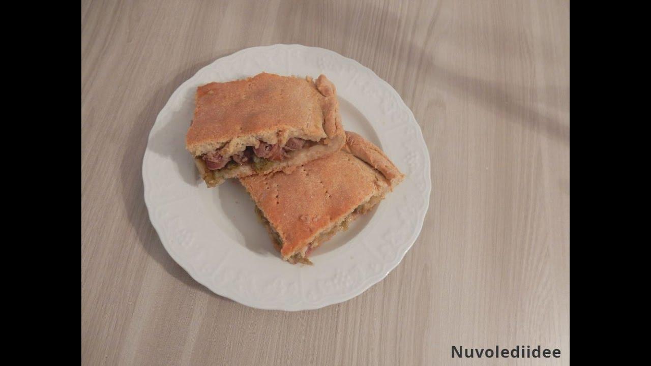 Pizza di scarola e salsiccia - YouTube