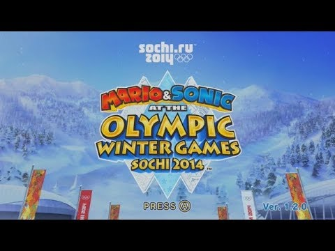 Lets Look at Mario & Sonic at the Sochi 2014 Winter Olympics!