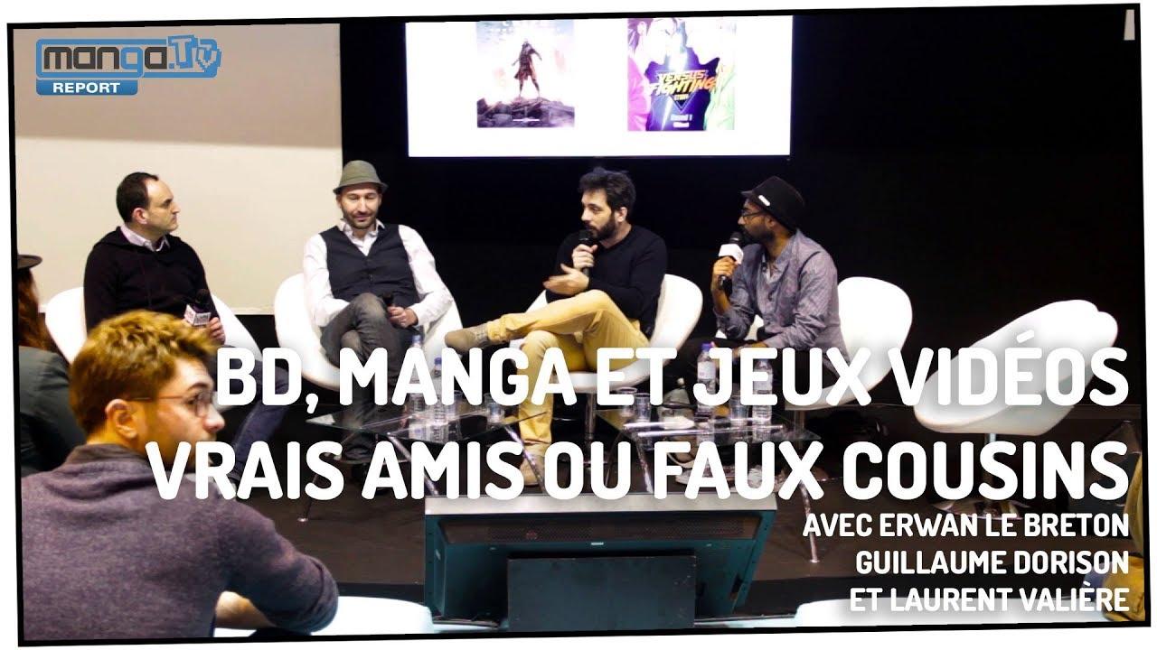Bd Manga Jeux Videos Vrais Amis Ou Faux Cousins Conference Livre Paris 2018