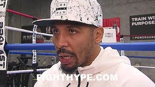 ANDRE WARD REACTS TO PAULIE MALIGNAGGI SPARRING CONOR MCGREGOR; EXPLAINS WHY