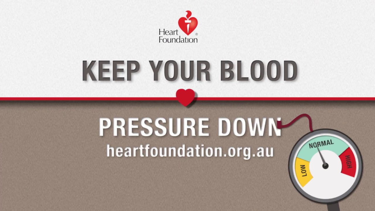 how to take your blood pressure down