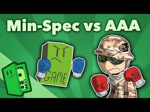 Min-Spec vs AAA - The Secret Accessibility of the PC - Extra Credits