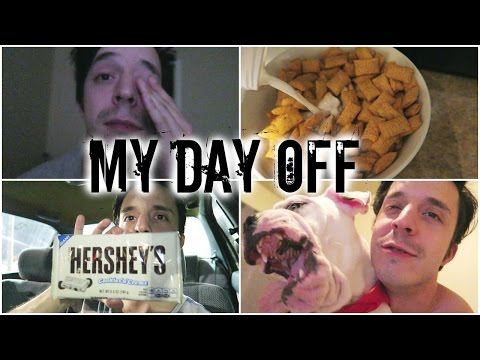 My Day Off | Lazy Day, Giant Hershey Bar, Dog Harness