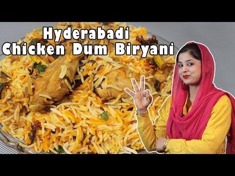 Hyderabadi Chicken Dum Biryani | Perfect Recipe |